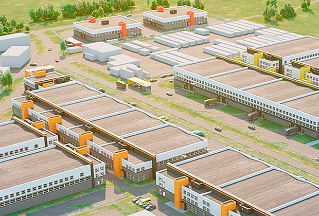 Проект технопарка «Руднево»