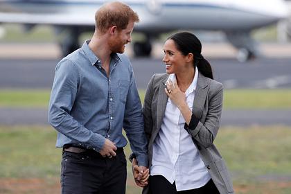 Меган Маркл и принц Гарри обменялись необычными подарками в годовщину свадьбы