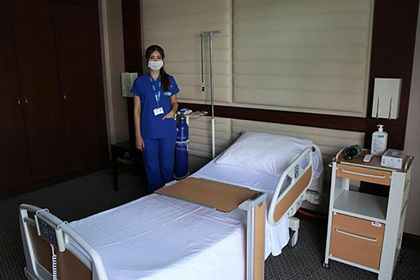 Появилось фото изолятора для карантина по коронавирусу в роскошном отеле Турции