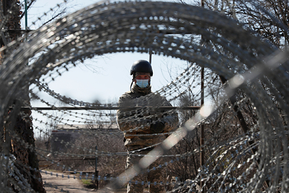 Украина продлила строительство стены на границе с Россией