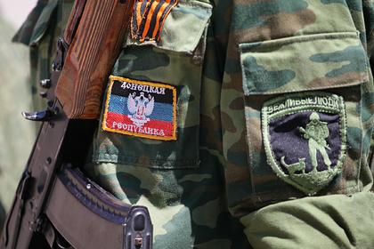 ДНР заявила о подавлении огневых точек украинской армии