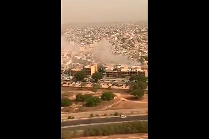 Крушение лайнера в Пакистане сняли на видео из другого самолета