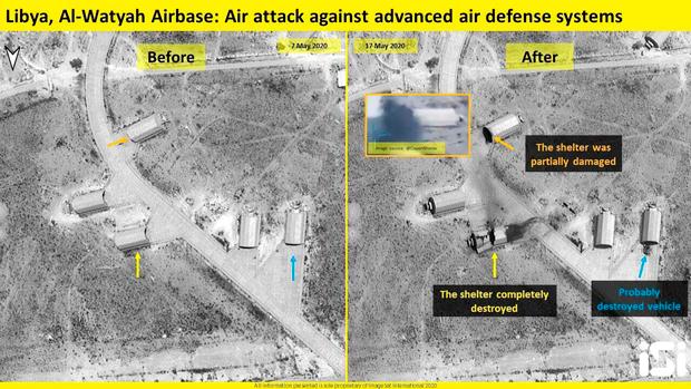 Спутниковый снимок авиабазы Аль-Ватия