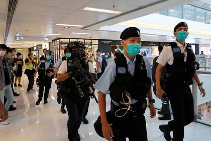 США иЕС осуждают КНР  зановый законодательный проект  оГонконге