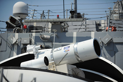 В России сочли бесполезным лазерное оружие США