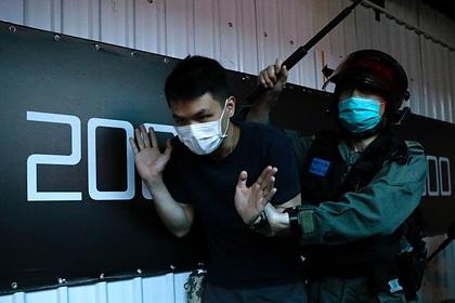 За попытки создать баррикады в Гонконге задержаны 120 протестующих