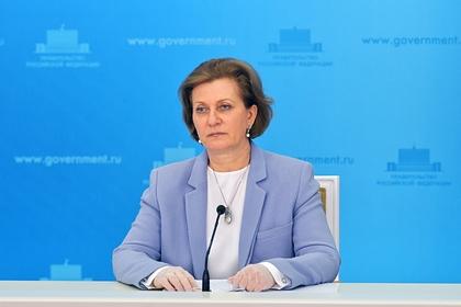 Попова отреагировала на данные о высокой смертности врачей в России