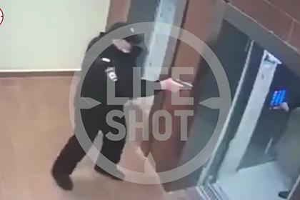 Задержание участников перестрелки в Москве попало на видео