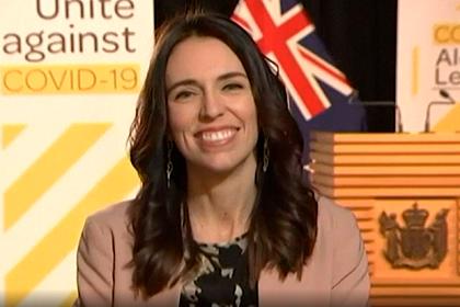 Премьер Новой Зеландии отказалась прерывать интервью из-за землетрясения