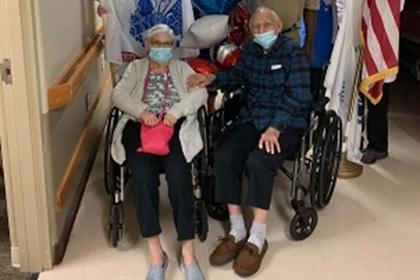 101-летний ветеран Второй мировой и его дочь одновременно победили коронавирус