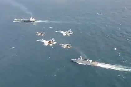 Пролет венесуэльских истребителей над иранским танкером попал на видео