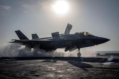Сверхзвуковое пузырение F-35 оказалось невидимым
