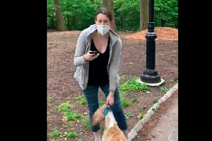 Женщина вызвала полицию после просьбы темнокожего мужчины следить за собакой