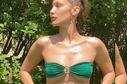 Самая красивая женщина в мире снялась в купальнике во время изоляции