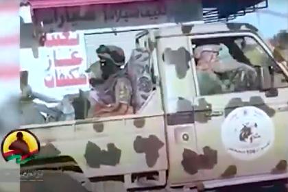 Многокилометровый конвой с бойцами ЧВК Вагнера в Ливии попал на видео