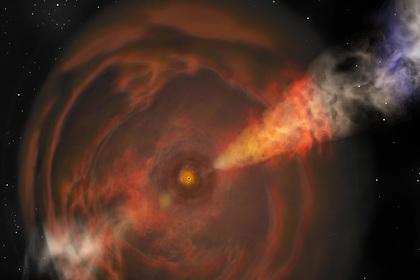 Зафиксирован самый мощный взрыв во Вселенной