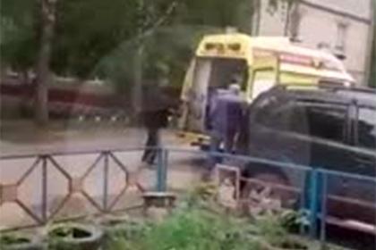 В российском городе задействовали реанимобиль для перевозки стиральных машин