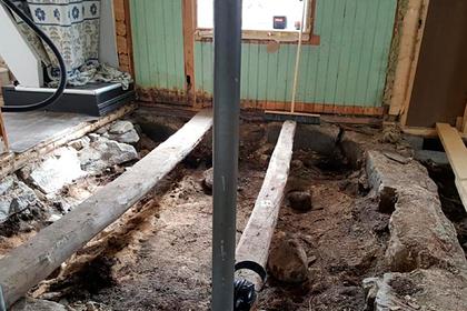 Норвежцы нашли могилу викинга под своей спальней
