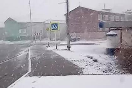 На Ямале выпал снег в конце мая