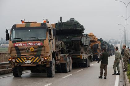 В Сирии взорвали турецкий конвой
