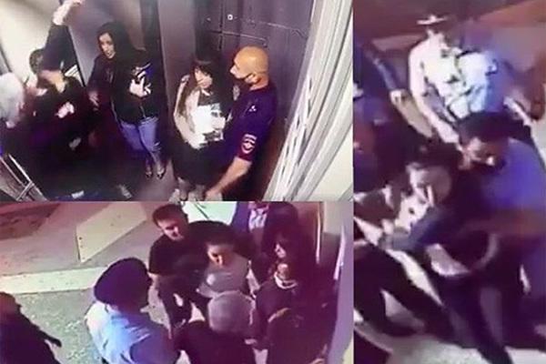 Адвокаты подрались с полицейскими в отделе МВД на Кавказе
