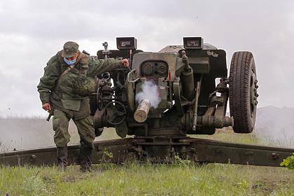 В Донбассе заметили стягивание военной техники к линии разграничения