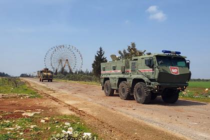 Россия определила взорвавших турецкий конвой в Сирии боевиков