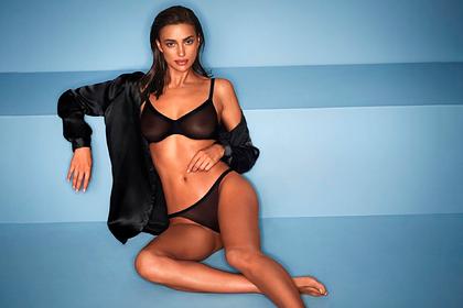 Ирина Шейк снялась в откровенной рекламной кампании нижнего белья