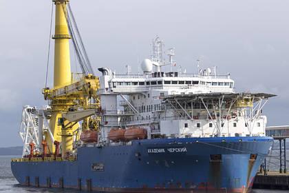 Судно для достройки «Северного потока-2» вернулось в порт