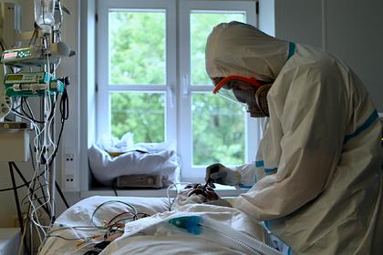 В России за сутки умерли 232 пациента с коронавирусом