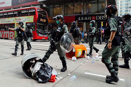Китай отчитал США из-за обращения в ООН по вопросу Гонконга
