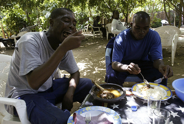 Ресторан в Абиджане