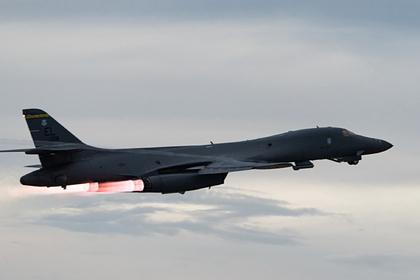 Cтратегические бомбардировщики B-1B ВВС США впервые в истории долетели до Киева