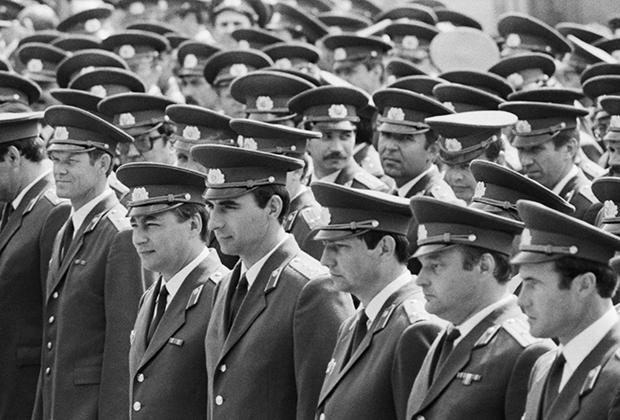 Выпускники Московской академии МВД СССР