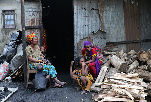 Абиджанские трущобы