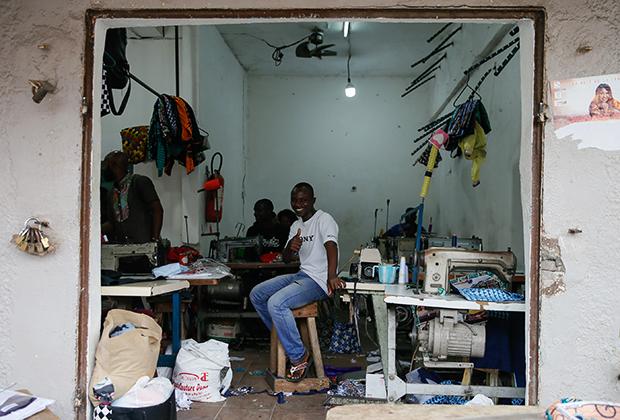 Магазинчик в Абиджане