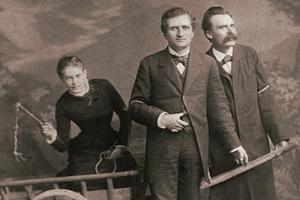 Лу Саломе, Пауль Рэ и Ницше