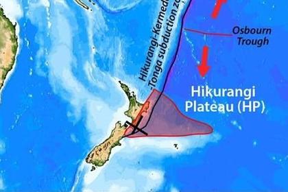 Найдена крупнейшая вулканическая зона на Земле