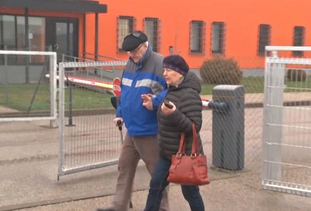 Херман Симм выходит из тюрьмы