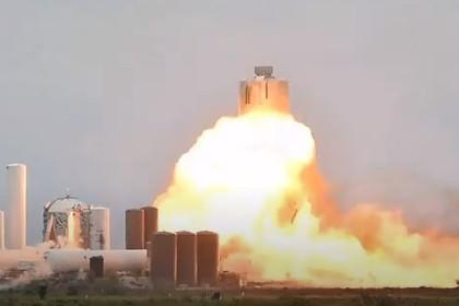 Очередной корабль Starship Илона Маска взорвался