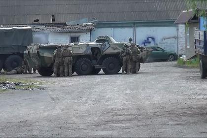 Опубликовано видео контртеррористической операции в Ингушетии