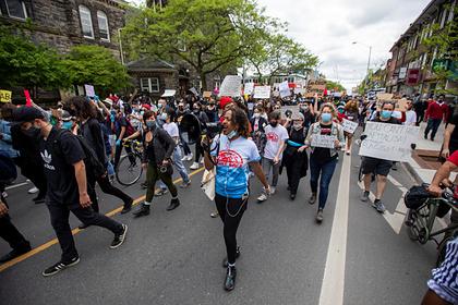 В Канаде началась акция из-за смерти чернокожего в США