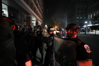 Полиция США применила слезоточивый газ против протестующих