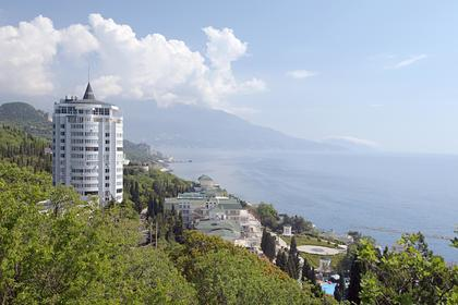 Россияне забронировали большинство номеров в крымских гостиницах