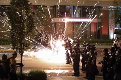 В США во время массовых беспорядков погиб протестующий