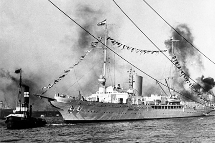 Пенсионер рассказал о появлении яхты Гитлера в Великобритании