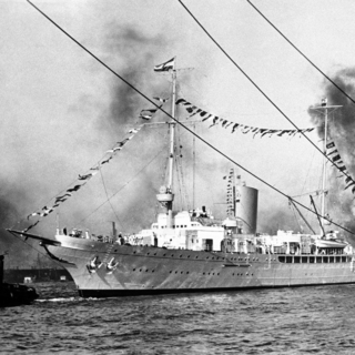 Grille в порту Гамбурга, сентябрь 1938 года