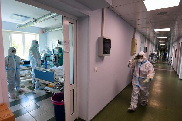 В России выявили 9035 новых случаев заражения коронавирусом
