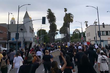 Ариана Гранде, Тимати Шаламе и другие звезды вышли на улицы во время беспорядков