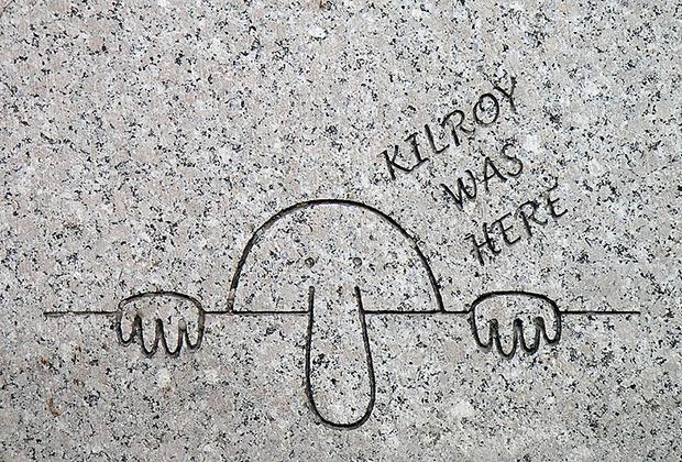 Граффити «Здесь был Килрой»